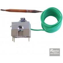 REGULUS Termostat provozní 0-90°C, ovládání šroubovák, kapilára 1,5m 10780