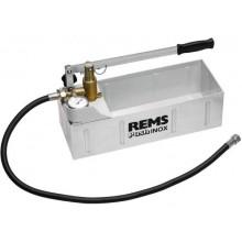 REMS Push INOX ruční zkušební tlaková pumpa s manometrem 115001