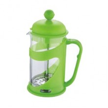 RENBERG Konvička na čaj a kávu French Press 800 ml zelená RB-3102zele