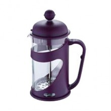 RENBERG Konvička na čaj a kávu French Press 600 ml fialová RB-3101fial