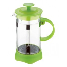 RENBERG Konvička na čaj a kávu French Press 600 ml zelená RB-3108