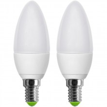 RETLUX REL 6 E14 set LED žárovek C37 2x5W 50001821