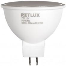 RETLUX RLL 288 GU5.3 LED žárovka bodová 7W 12V WW 50002396