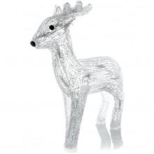 RETLUX RXL 153 30LED Vánoční osvětlení jelen akryl 370 mm CW studená bílá 50002296