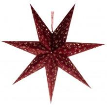 RETLUX RXL 338 hvězda červená 10LED samet povrch 50003933