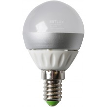 RETLUX REL 13CW žárovka LED G45 4W E14, 50001316
