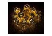RETLUX RXL 51 10LED MET.BALLS Au WW 1,5M vánoční osvětlení 50001800ret