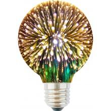 RETLUX RXL 309 3D LED žárovka s 3D efektem G95 E27 50003485