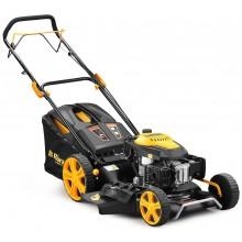 Riwall PRO RPM 5355 - multifunkční travní sekačka 4 v 1 s benzinovým motorem a pojezdem PM12B2001057B