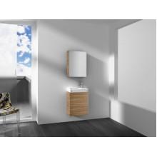 Roca Mini nábytková sestava 45 cm, pravá/levá, dub 7855866155