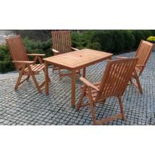 Stůl HOLIDAY - FSC mořená borovice, 30 x 79 x 76 cm,10612