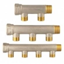 HERZ Rozdělovač kompaktní pro instalaci sanity DN 20, 2-cestný, 2845122