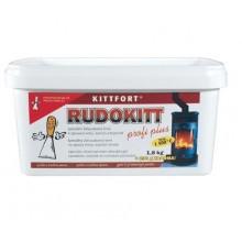 KITTFORT RUDOKIT žáruvzdorný tmel 2 kg