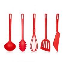 BANQUET Sada kuchyňského náčiní CULINARIA Red, 5 ks 28520135R