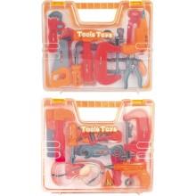 Sada nářadí G21 červeno-oranžová v kufříku 60026330