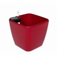 Samozavlažovací květináč G21 Cube maxi červený 45cm 6392421