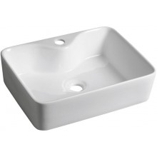 SAPHO BALENA keramické umyvadlo 48x13,5x37 cm, na desku BH7013