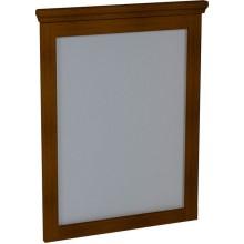 SAPHO CROSS zrcadlo 60x80x3,5cm, mahagon