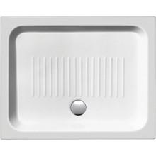 SAPHO Keramická sprchová vanička, obdélník 90x72x11cm 259011