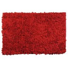 SAPHO HAIR předložka 60x90cm s protiskluzem, polyakryl, červená 741306