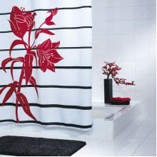 SAPHO HOKKAIDO sprchový závěs 180x200cm, polyester 47926
