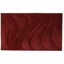 SAPHO LA OLA předložka 60x90cm s protiskluzem, polyester, červená 729316