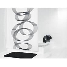 SAPHO LOOP sprchový závěs 180x200cm, polyester, spirála 42346