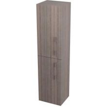 SAPHO NATY skříňka vysoká s košem 35x140x30cm, levá, mali wenge 53028L