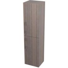 SAPHO NATY skříňka vysoká s košem 35x140x30cm, pravá, mali wenge 53029P