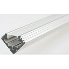 SAPHO LED rohový profil 19x19mm, eloxovaný hliník, 2m KL4023-2
