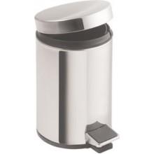 SAPHO SIMPLE LINE odpadkový koš kulatý 5l, leštěná nerez 27105