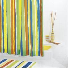 SAPHO TUTU sprchový závěs 180x200cm, polyester, pruhy 48360