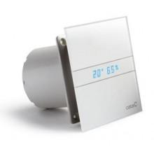 CATA E-100 GTH koupelnový ventilátor axiální s automatem, 8W, potrubí 100mm, bílá 00900200