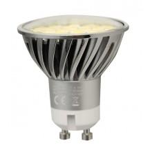SAPHO LED bodová žárovka 4,5W, 230V, GU10, denní bílá , 120°, 360lm LDP139