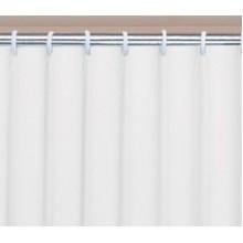 AQUALINE UNI sprchový závěs 120 x 200cm, vinyl, bílá 131111