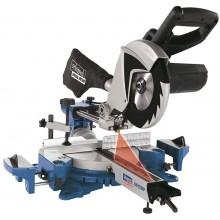 SCHEPPACH HM 100 MP Dvourychlostní multifunkční pokosová pila s potahem a laserem 5901208901
