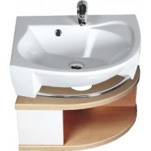 RAVAK SDU Rosa L skříňka pod umyvadlo se šuplíkem, bílá/bílá X000000326