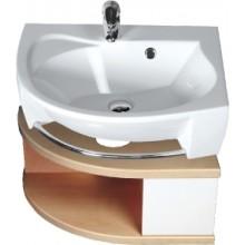 RAVAK SDU Rosa R skříňka pod umyvadlo se šuplíkem, bílá/bílá X000000327