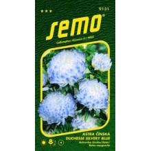SEMO Astra čínská DUCHESSE SILVERY BLUE 9131