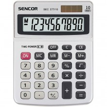 SENCOR SEC 377/ 10 DUAL kalkulačka 10001171