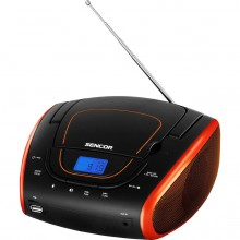 SENCOR SPT 1600 BOR radio s CD/MP3/USB 35048647