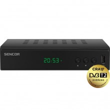 SENCOR SDB 5003T H.265(HEVC) DVB-T přijímač 35050093