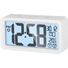 SENCOR SDC 2800 W hodiny s budíkem bílé 35050545