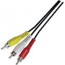 SENCOR AV kabel SAV 107-015 3xRCA M - 3xRCA M P 35020178