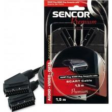 SENCOR AV kabel SAV 113-008 SCART M-SCART M 21P P 35020201