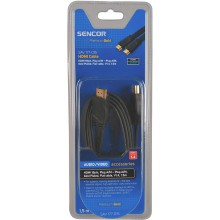 SENCOR AV kabel SAV 177-015 HDMI A-A FLAT V1.4 PG 35040936