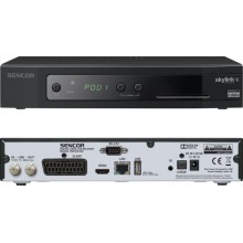 SENCOR SDB 6010SI DVB-S2 IRDETO USB PVR 35045329