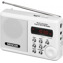 SENCOR SRD 215 W Rádio s USB/MP3 35039902
