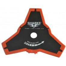 PROMÁČKLÝ OBAL SHARKS Nůž ke křovinořezu 3Z, BSP-007B - PLNĚ FUNKČNÍ