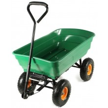 SHARKS 200 Zahradní vozík, zelený SA042